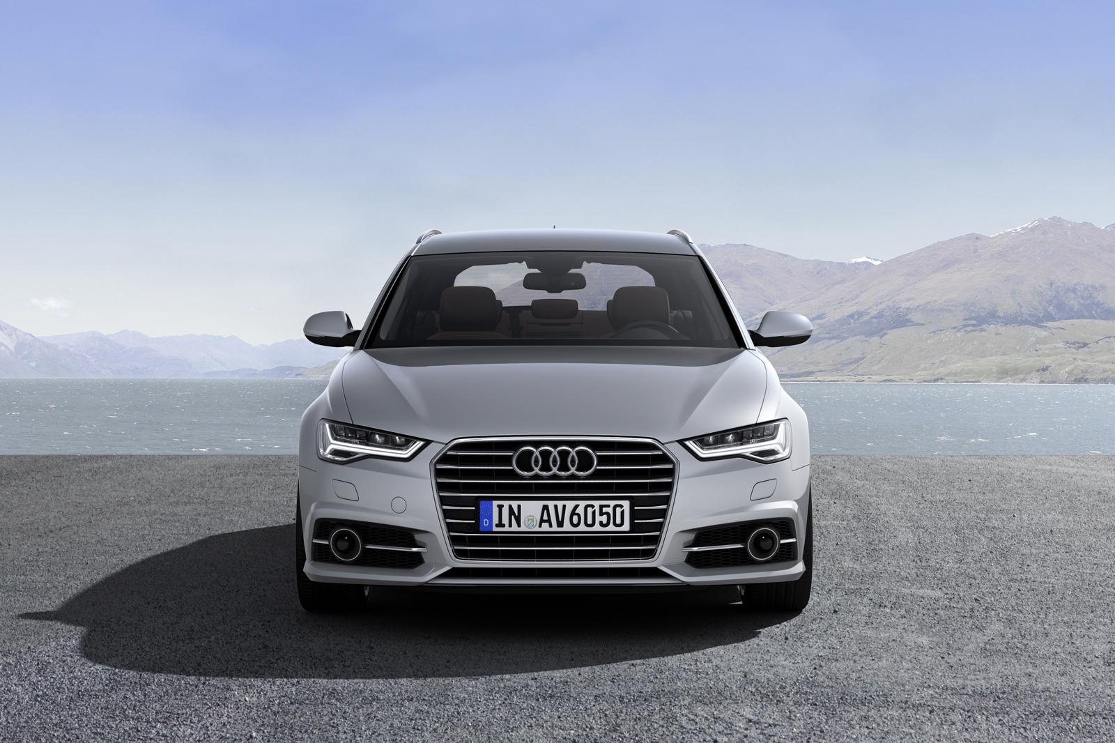 Рестайлинг Audi A6 Avant для США