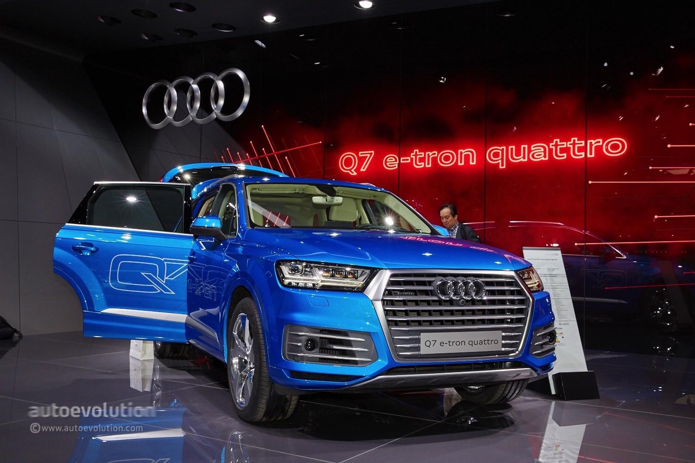 Audi 2016 audi q7 : 2016 Audi Q7 e-tron Diesel PHEV Is the World's Most Efficient ...
