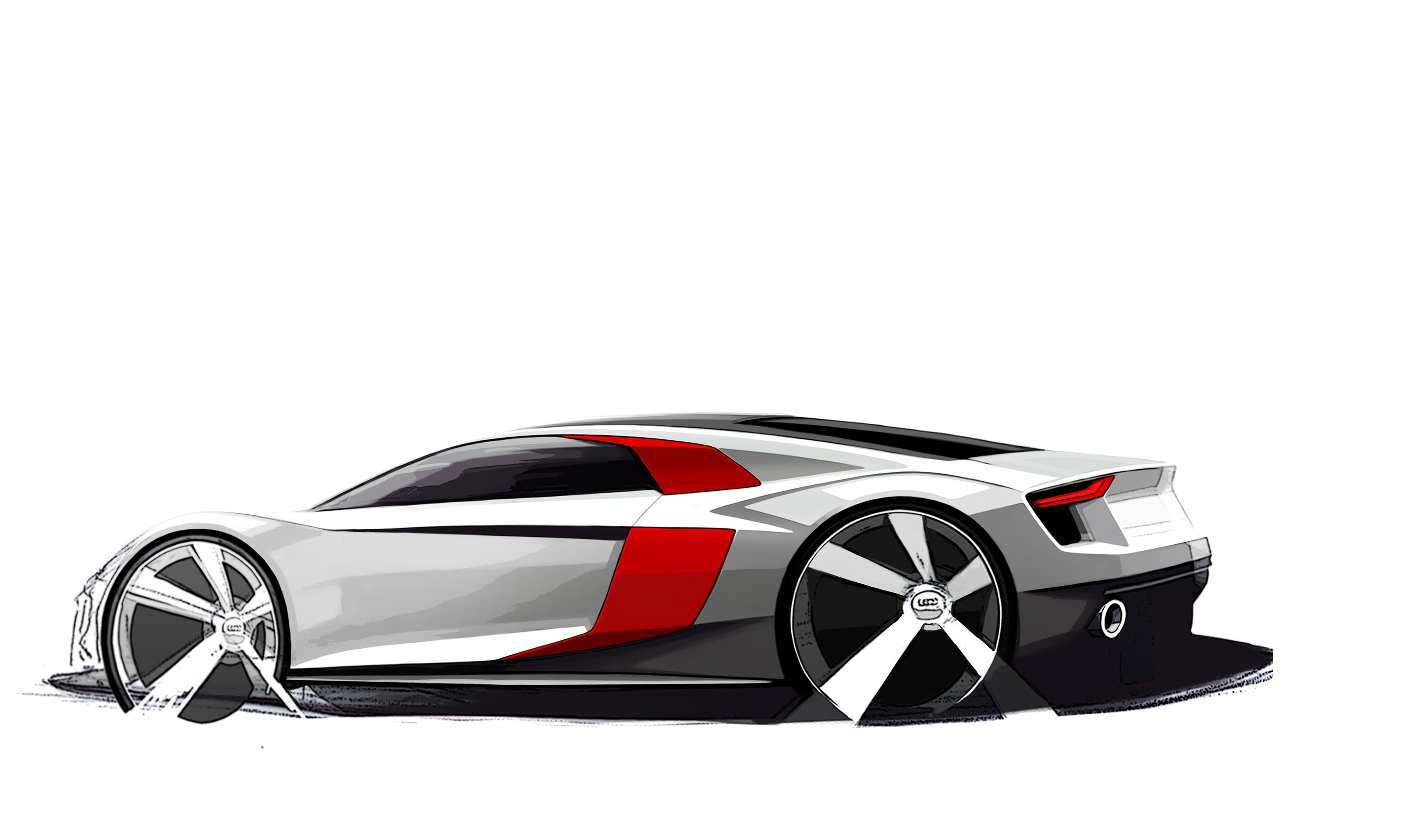 2016 Audi R8 Design Sketches Are Something to Geek Over - autoevolution