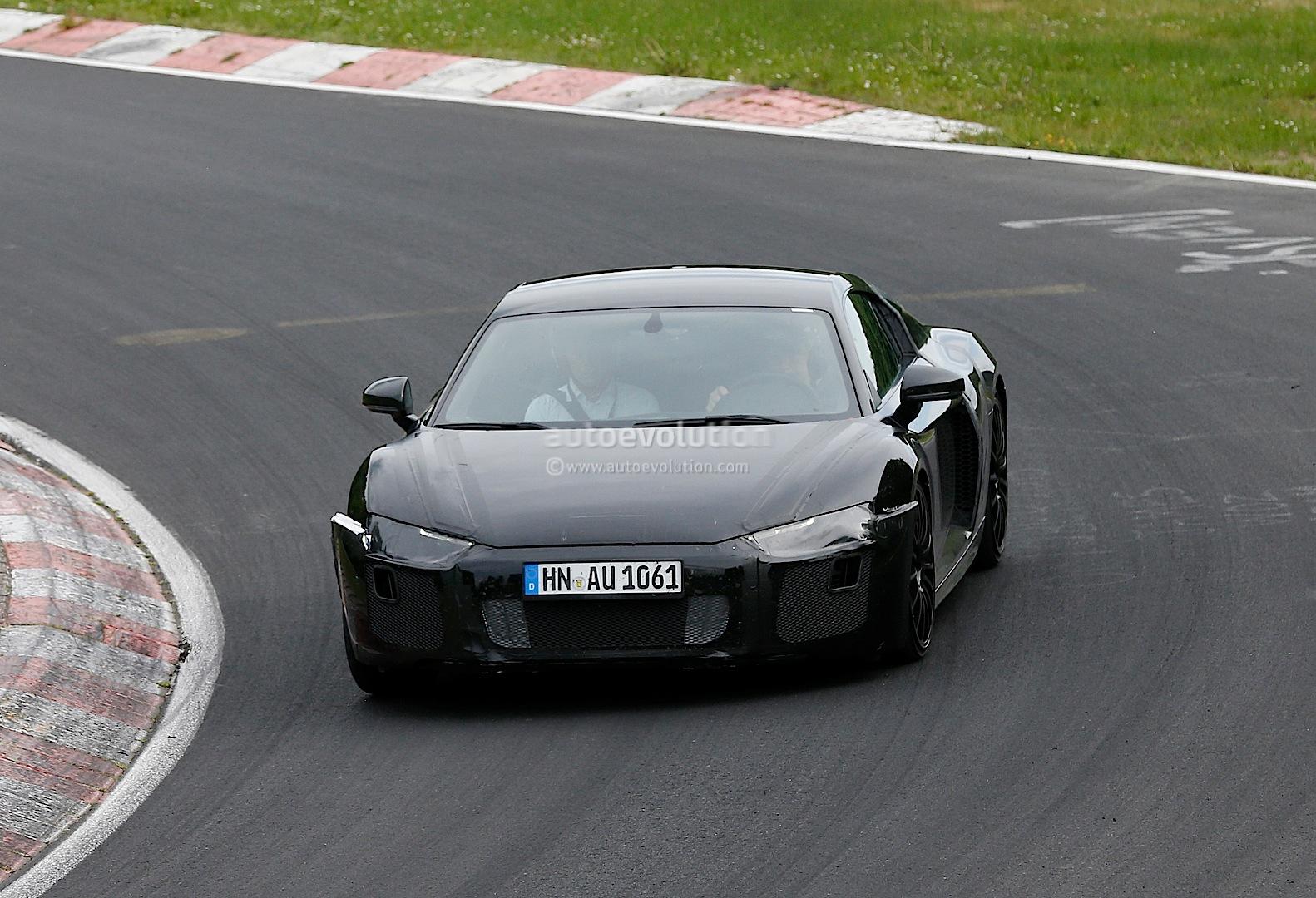 audi r8 interior. 2016 audi r8 prototype spied on the nurburgring interior