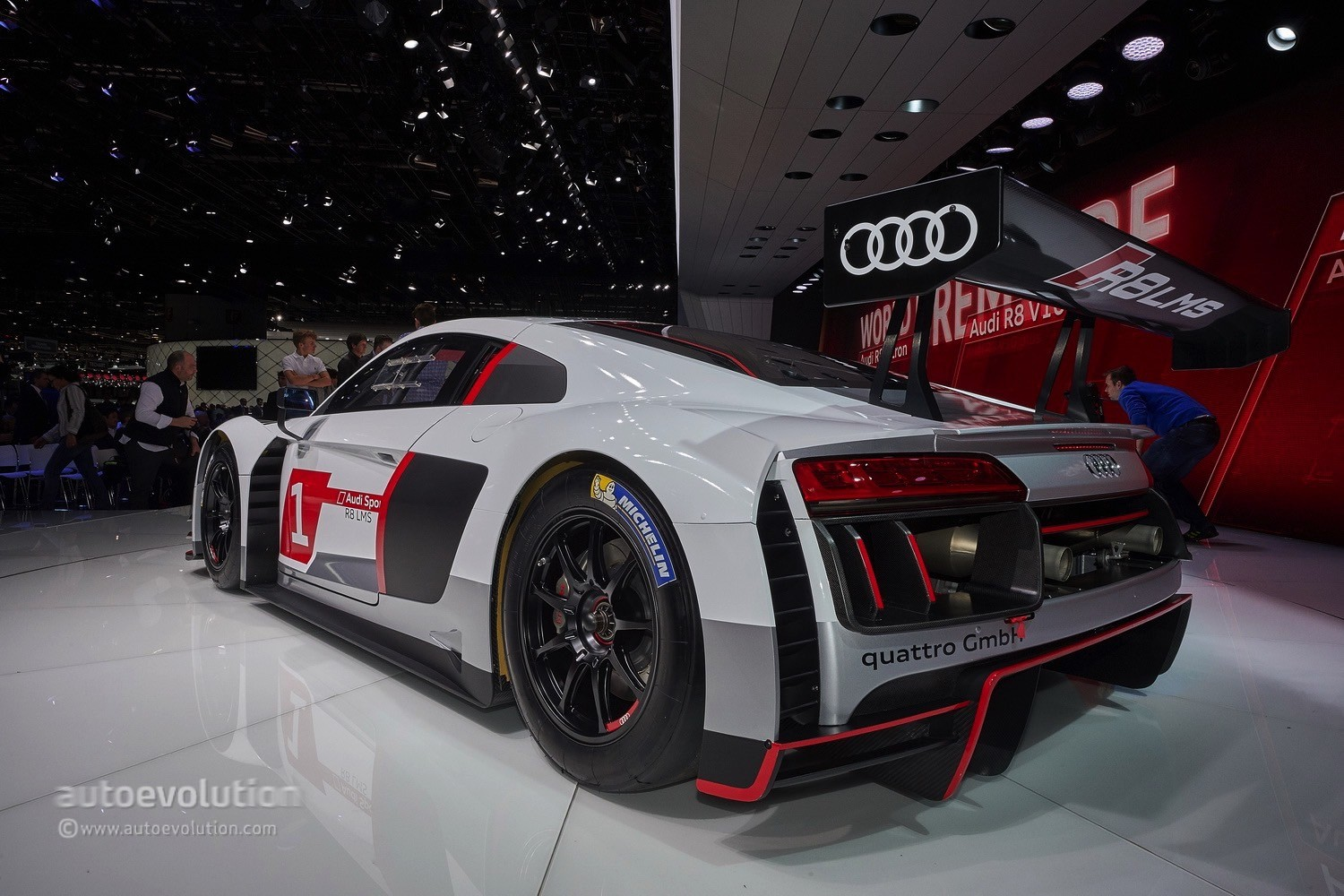 Audi R Lms Races Into Gt With Stiffer Chassis And Extra Safety Features Live Photos on Audi Rs8