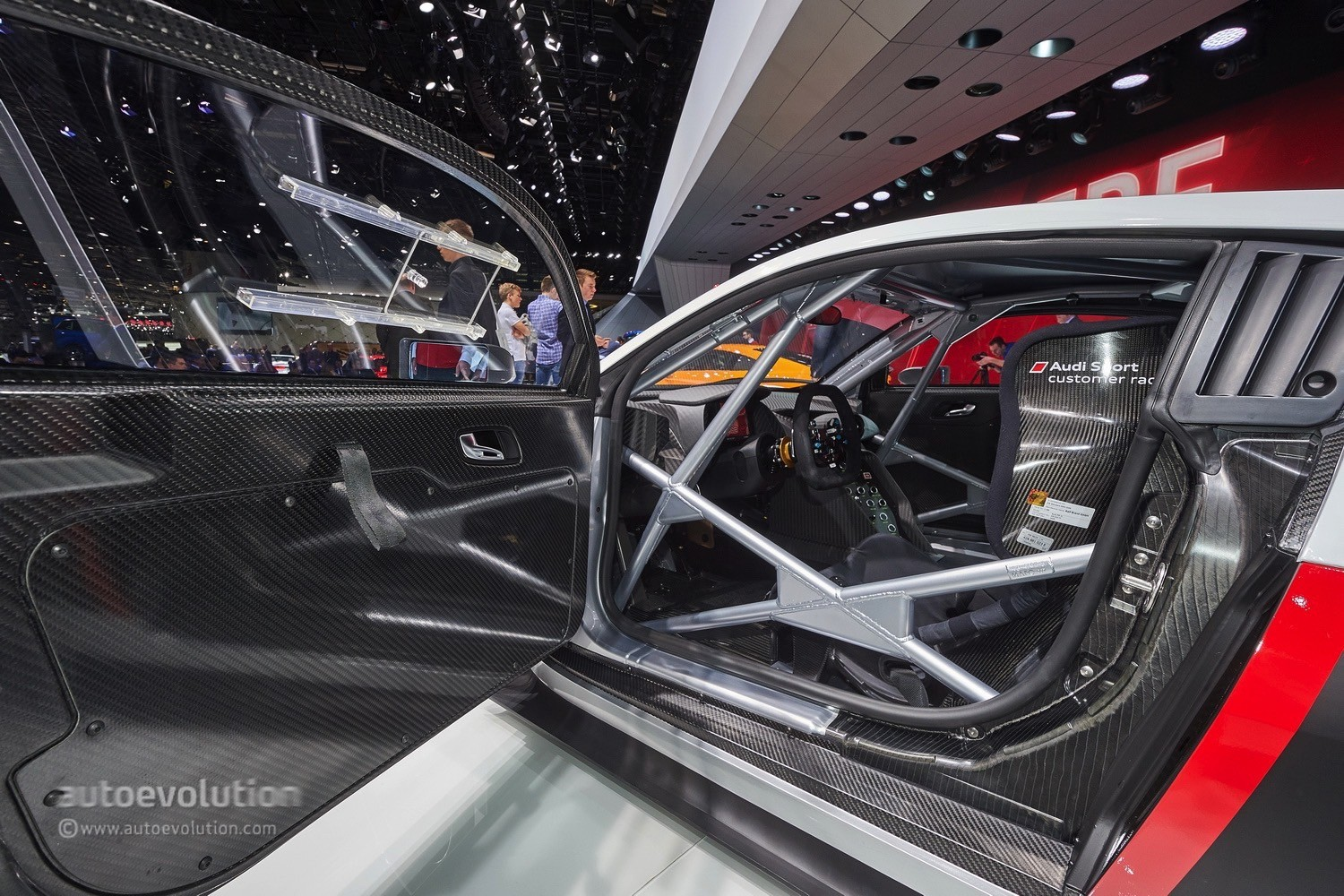 Audi R Lms Races Into Gt With Stiffer Chassis And Extra Safety Features Live Photos
