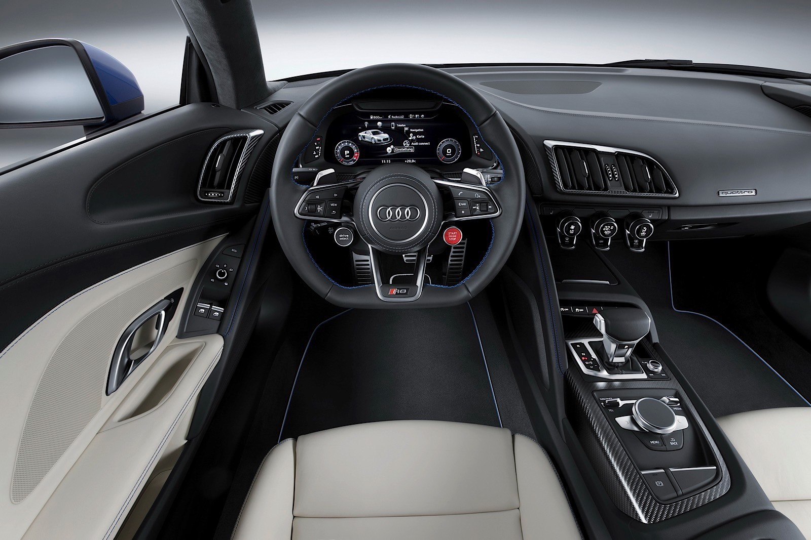 Audi R Officially Revealed With HP V Engine And MPH - Audi r8 top speed