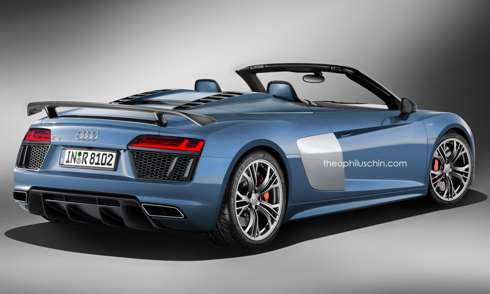 2016 Audi R8 Spyder Already Rendered The Best Way To