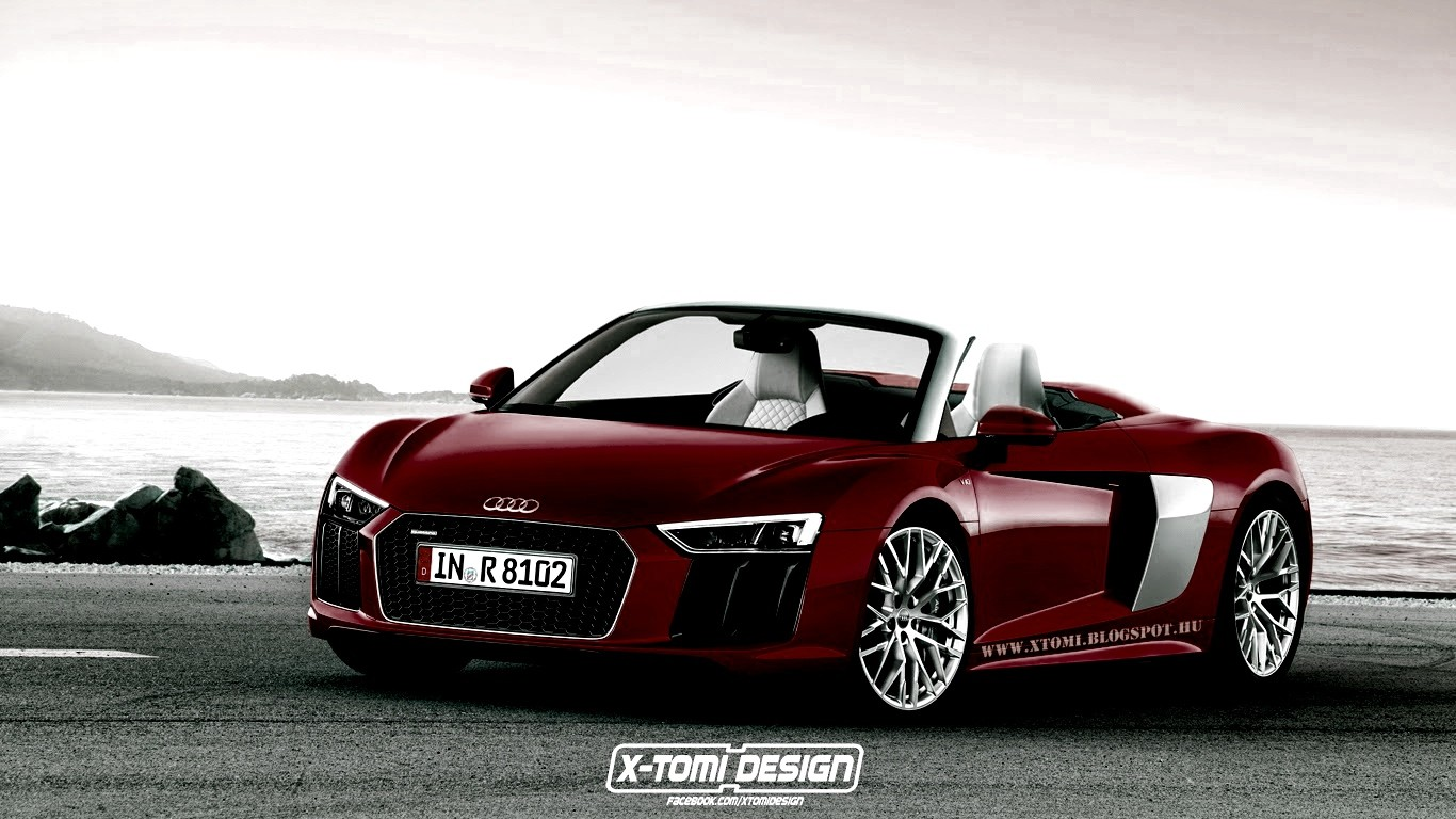 2016 Audi R8 Spyder Rendered… in Different Colors ...