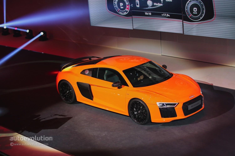 2016 Audi R8 V10 Reveals the Next Era of German Supercars in Geneva ...