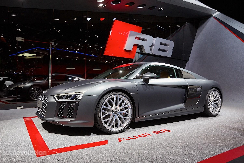 2016 Audi R8 V10 Reveals The Next Era Of German Supercars
