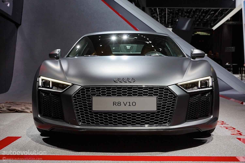 2016 Audi R8 V10 Reveals the Next Era of German Supercars ...