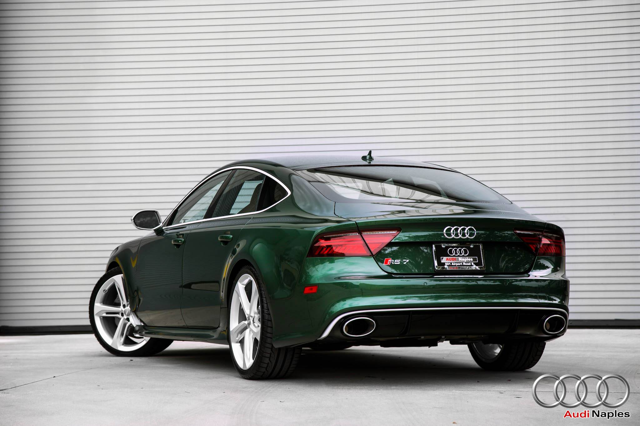 2016 Audi Rs7 In Verdant Green Looks Like A Bentley
