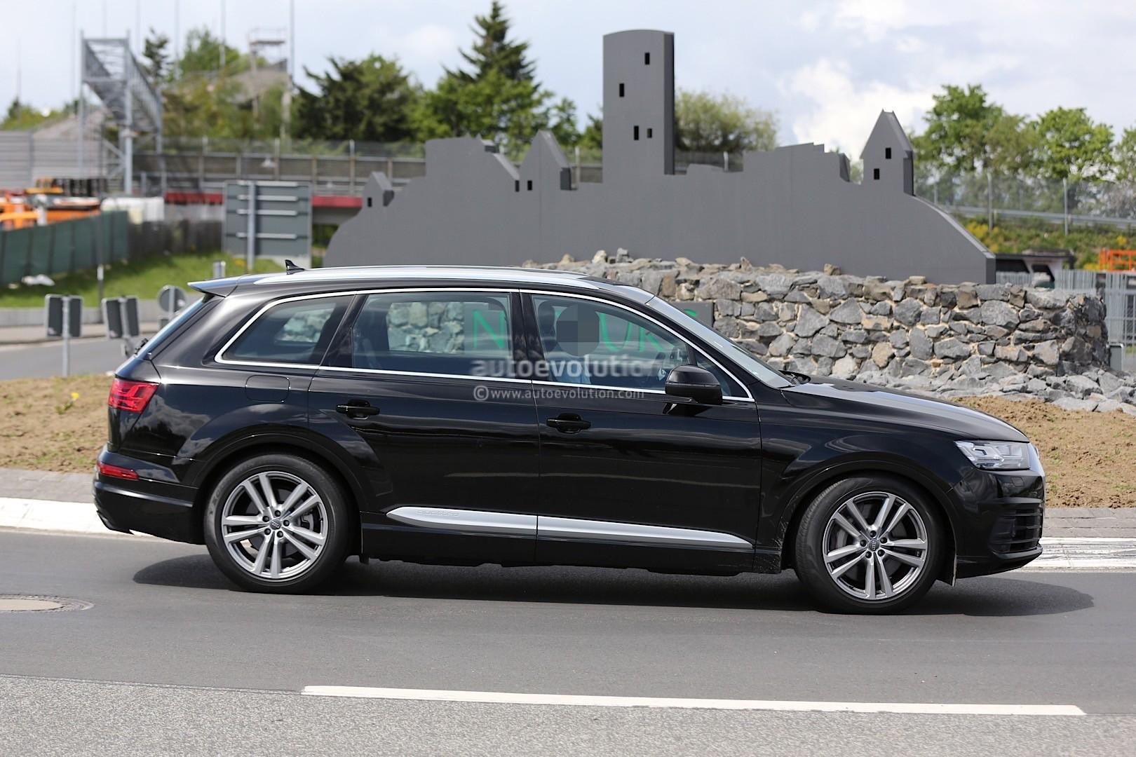 2016 Audi SQ7 Prototype Crashes at Nurburgring - autoevolution