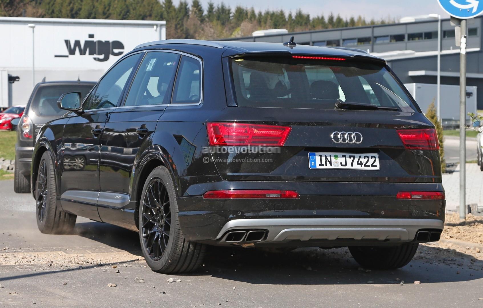 2016 Audi SQ7 Revealed Bare Naked in Fresh Spyshots - autoevolution