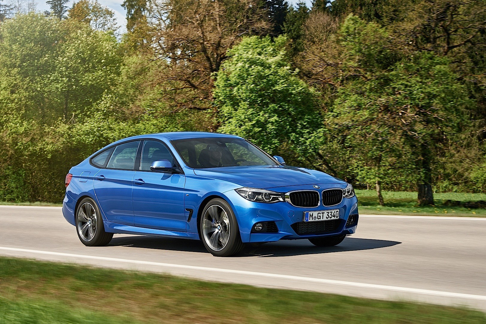 2016 bmw 3 series gran turismo facelift is all things to all families autoevolution. Black Bedroom Furniture Sets. Home Design Ideas