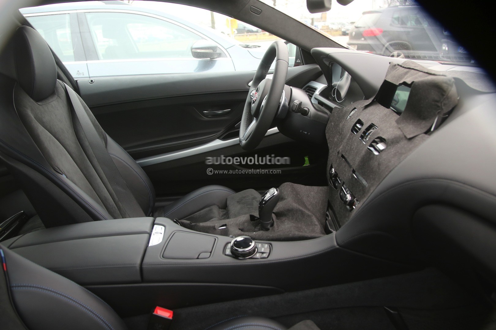 2016 bmw 6 series facelift interior spied for the first time   autoevolution