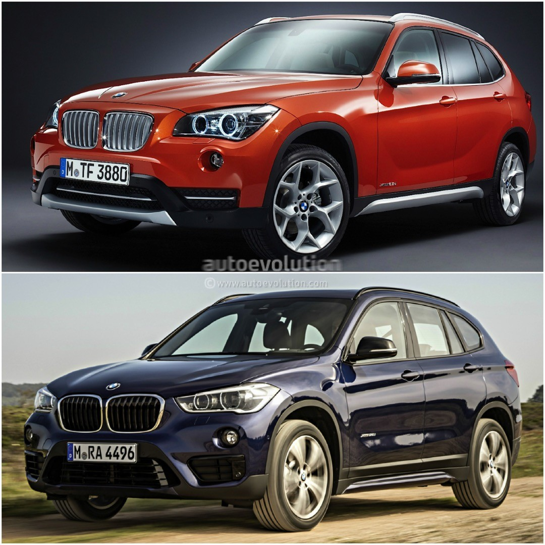 2016 bmw f48 x1 vs bmw e84 x1 photo comparison autoevolution. Black Bedroom Furniture Sets. Home Design Ideas