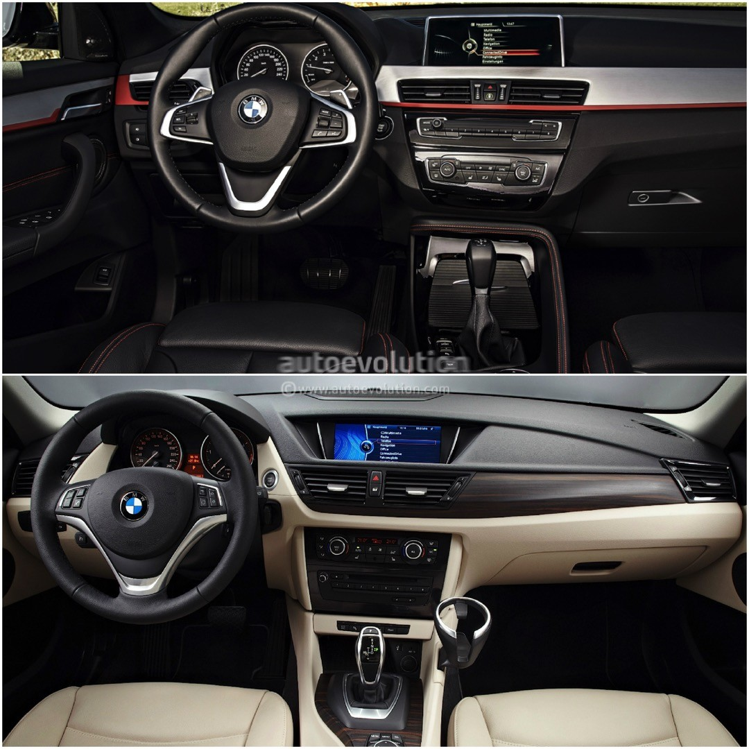 e84 bmw x1 vs 2016 bmw x1 f48 photo comparison autos post. Black Bedroom Furniture Sets. Home Design Ideas