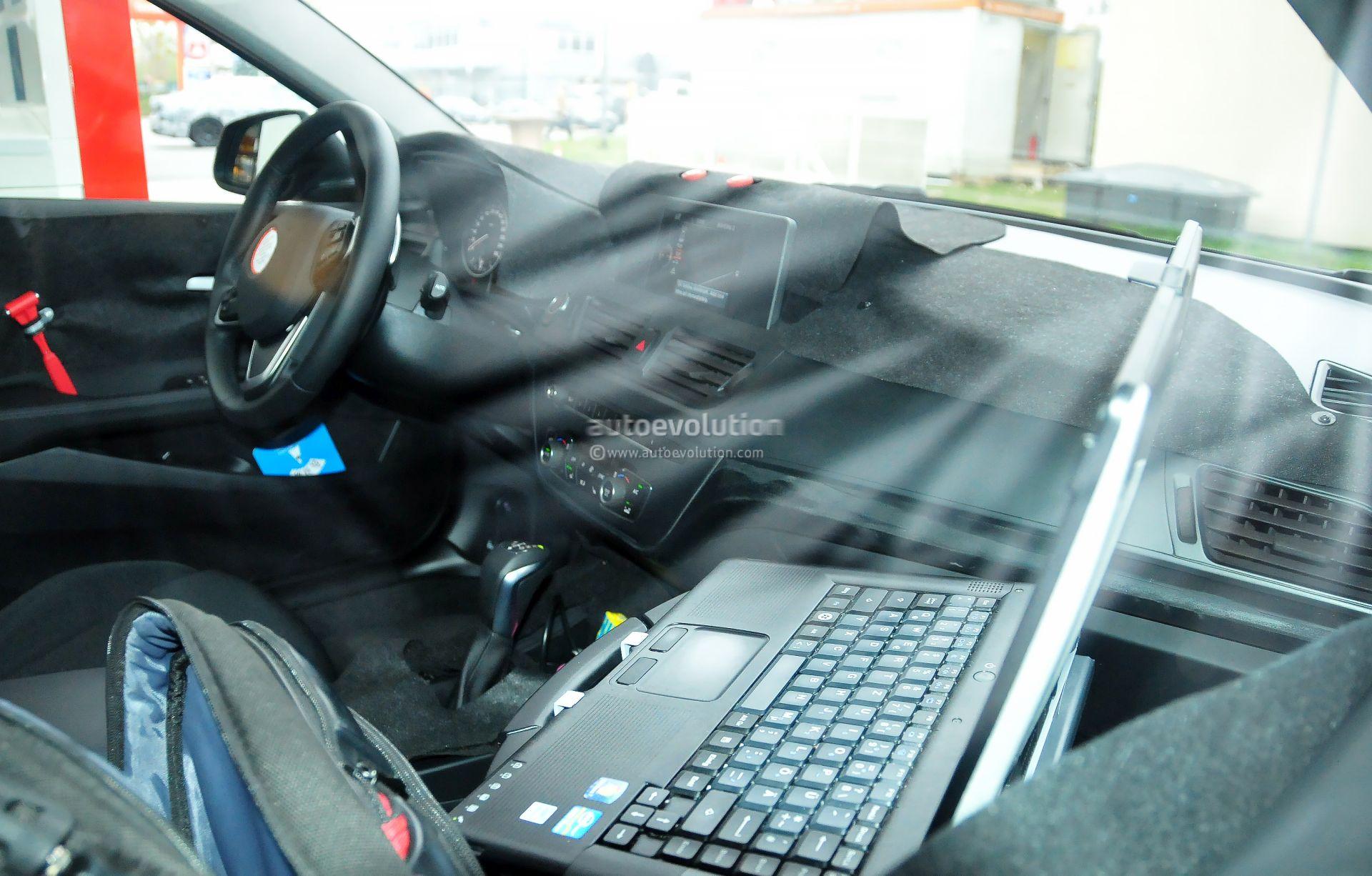 2016 Bmw F52 1 Series Sedan Interior Spied Looks Like The