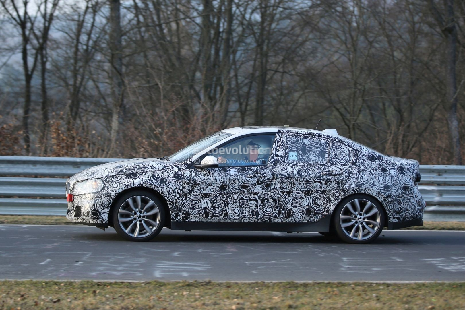 2016 bmw f52 1 series sedan spotted testing fwd platform on nurburgring photo gallery. Black Bedroom Furniture Sets. Home Design Ideas