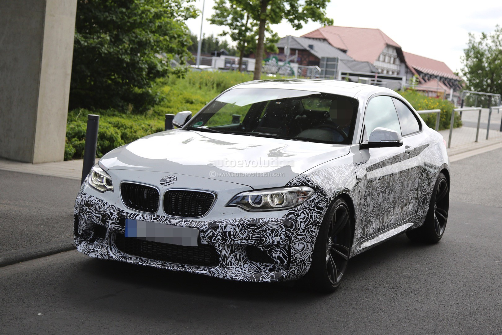 2016 bmw f87 m2 out testing on public german roads in. Black Bedroom Furniture Sets. Home Design Ideas