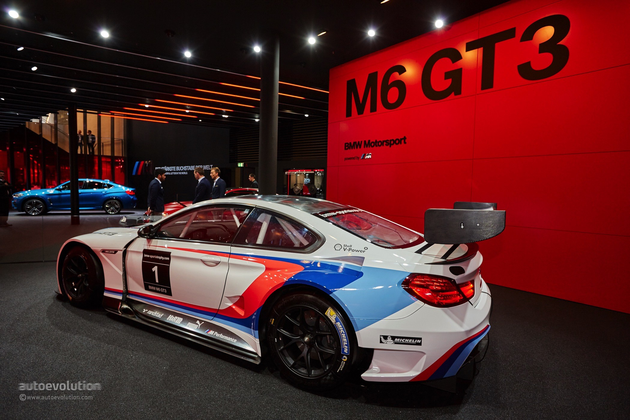 2016 Bmw M6 Gt3 Is The Definition Of Eye Candy At
