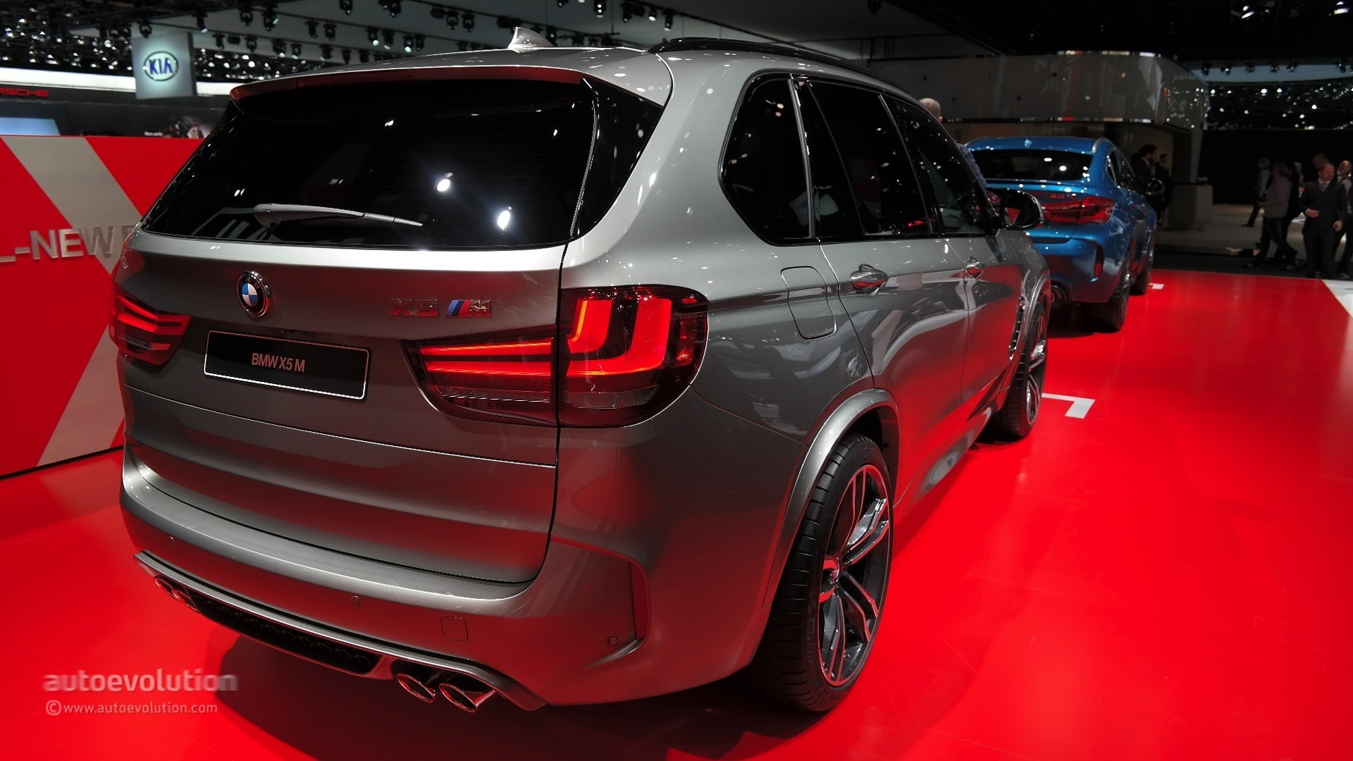 2020 BMW X5 M Brings Its Fancy New Gearbox to Detroit [Live Photos ...