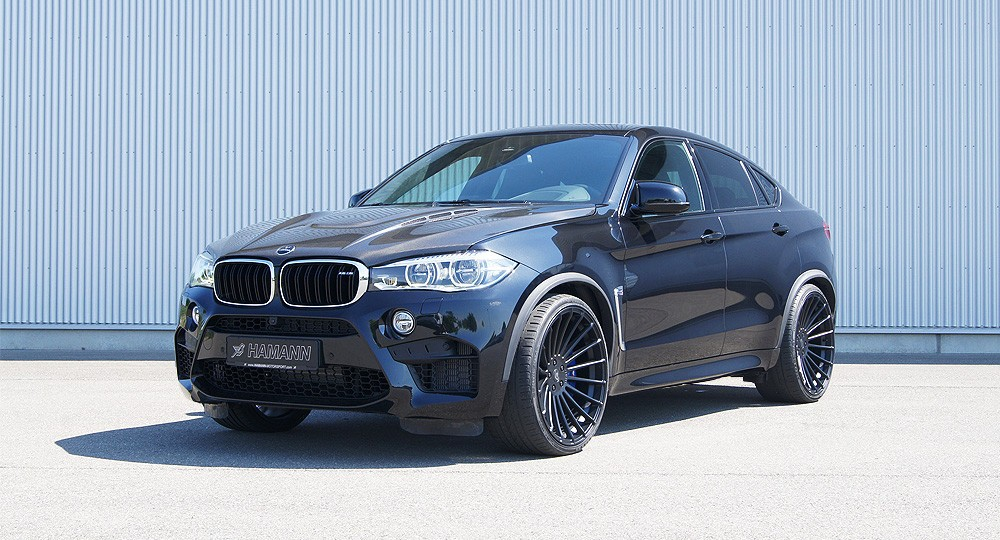 Justin Bell Puts The 2016 Bmw X6 M Through Its Paces On