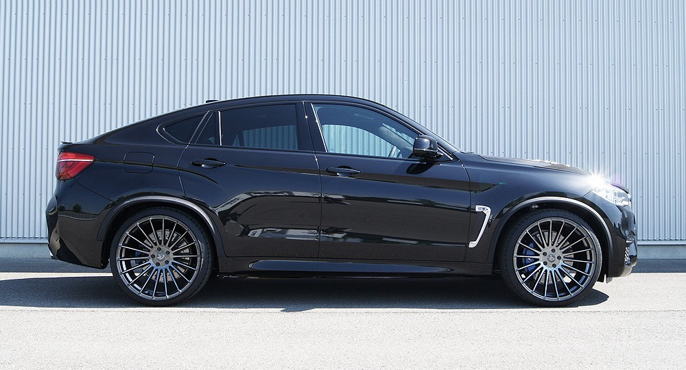 2016 Bmw X6 M Gets 640 Hp And A Carbon Fiber Bonnet From Hamann Autoevolution