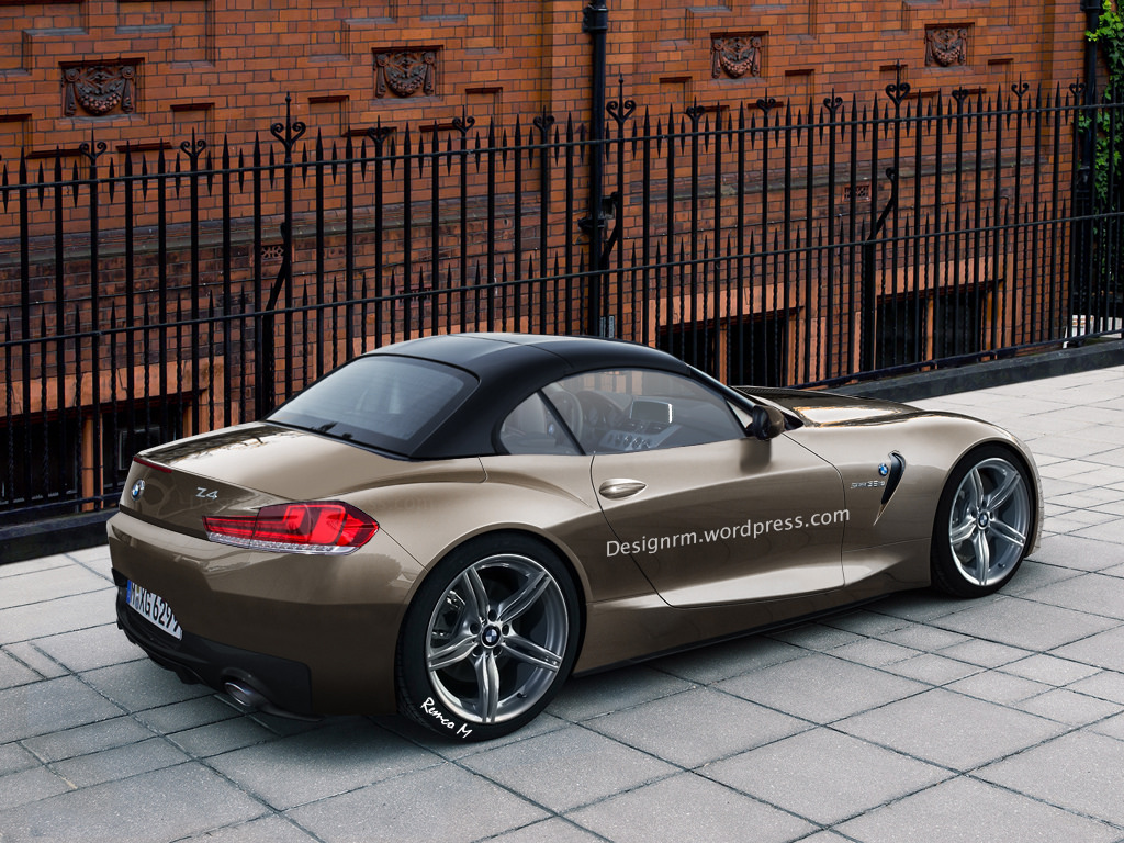2016 bmw z4 rendered autoevolution. Black Bedroom Furniture Sets. Home Design Ideas