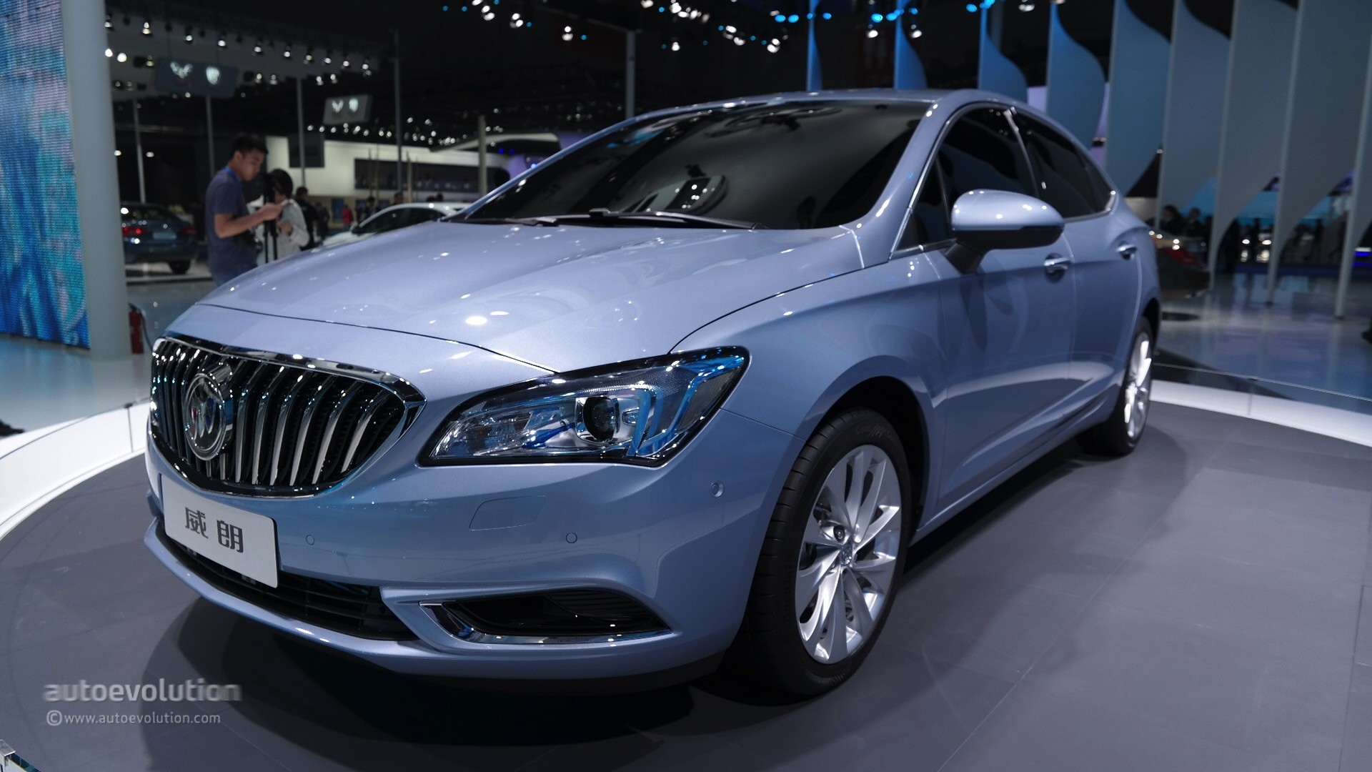 2016 Buick Verano At The Shanghai Auto Show 2017