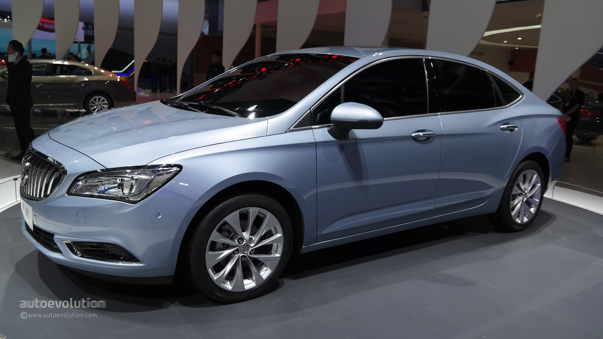 2016 buick verano doesn t feel like a buick at the shanghai auto show 2015 autoevolution. Black Bedroom Furniture Sets. Home Design Ideas