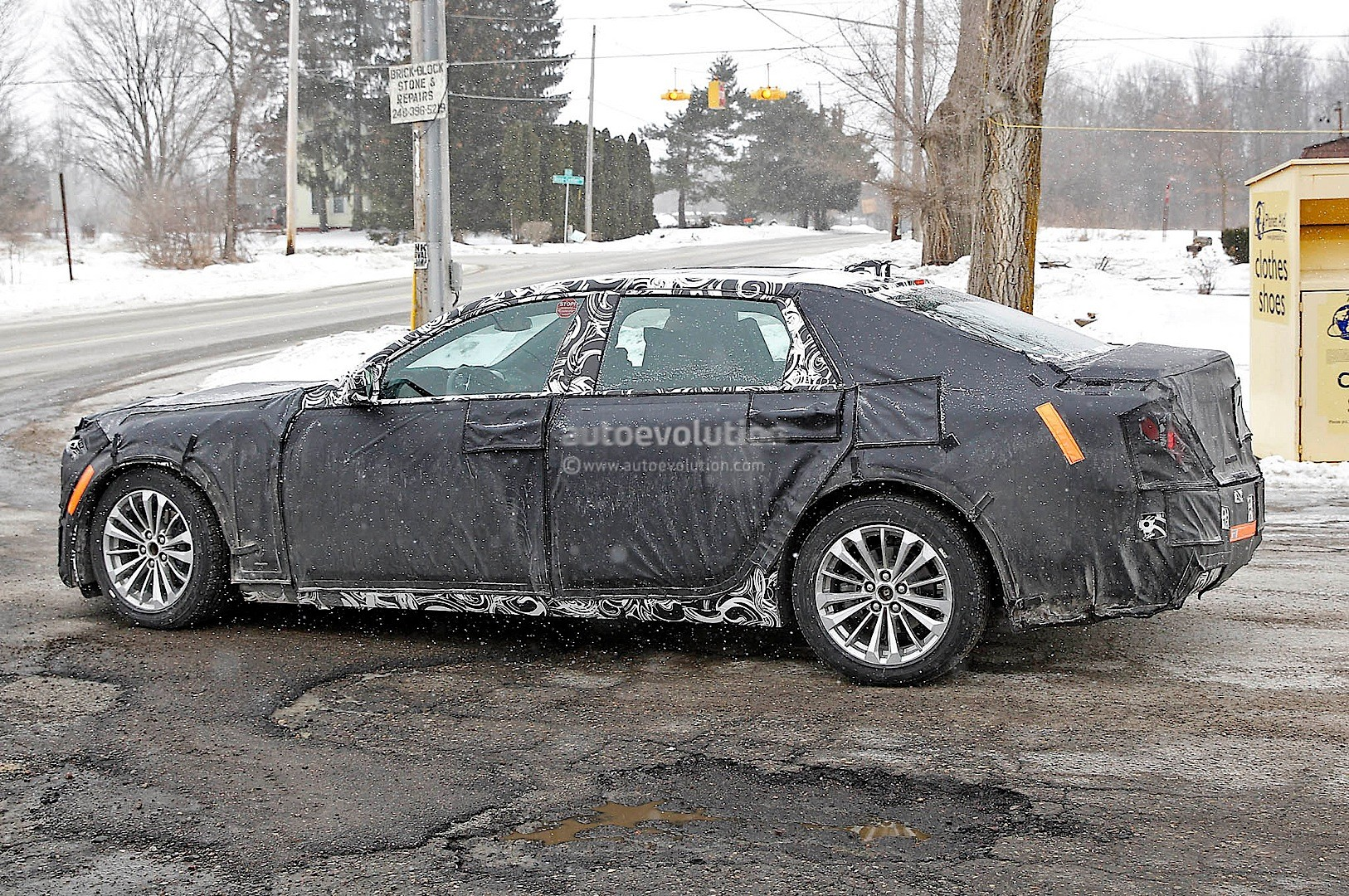 2016 Cadillac CT6 Vsport Approved for Production, Aluminum ...