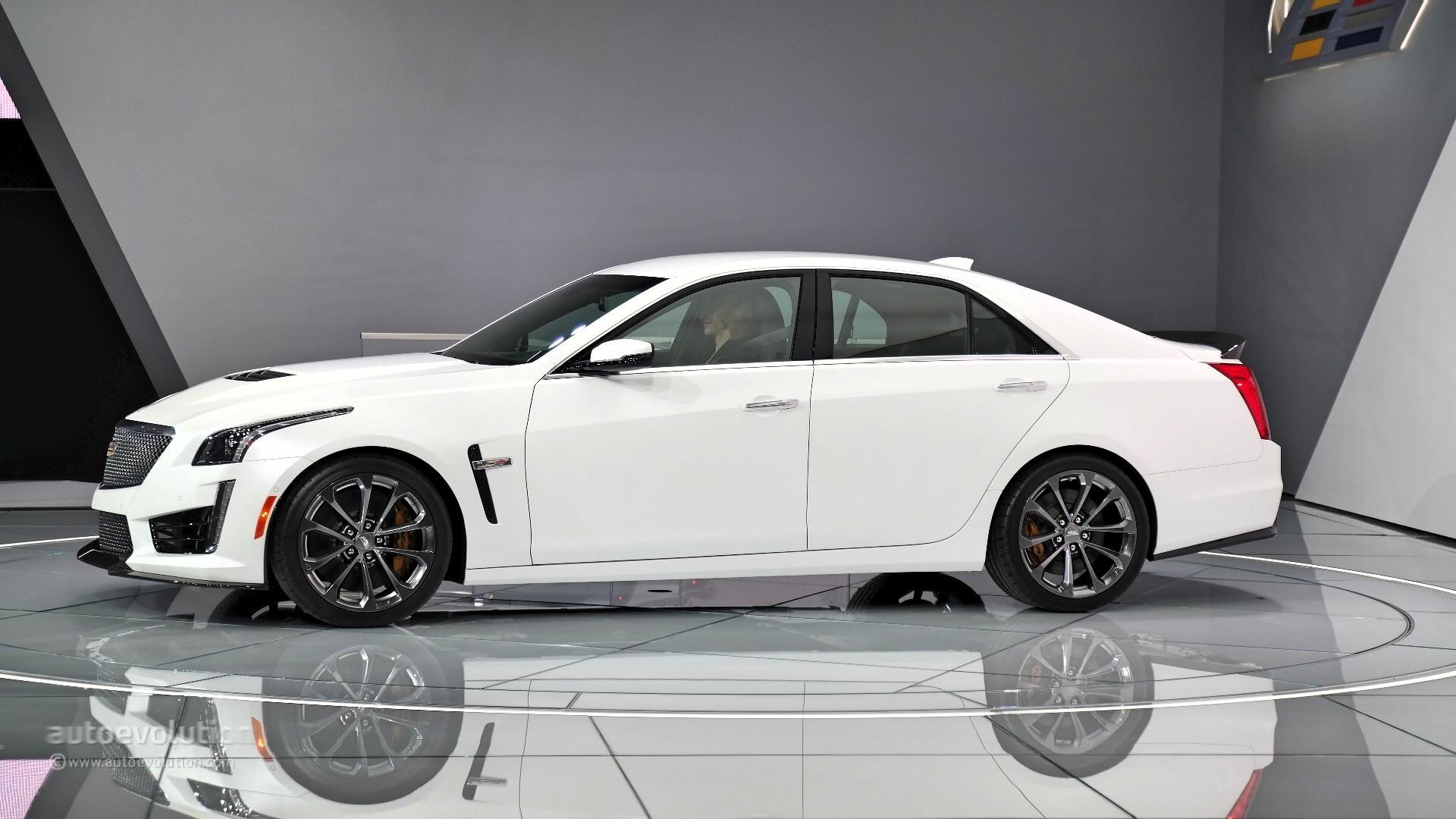 2016 Cadillac Cts V Shows Detroit What A Performance Sedan