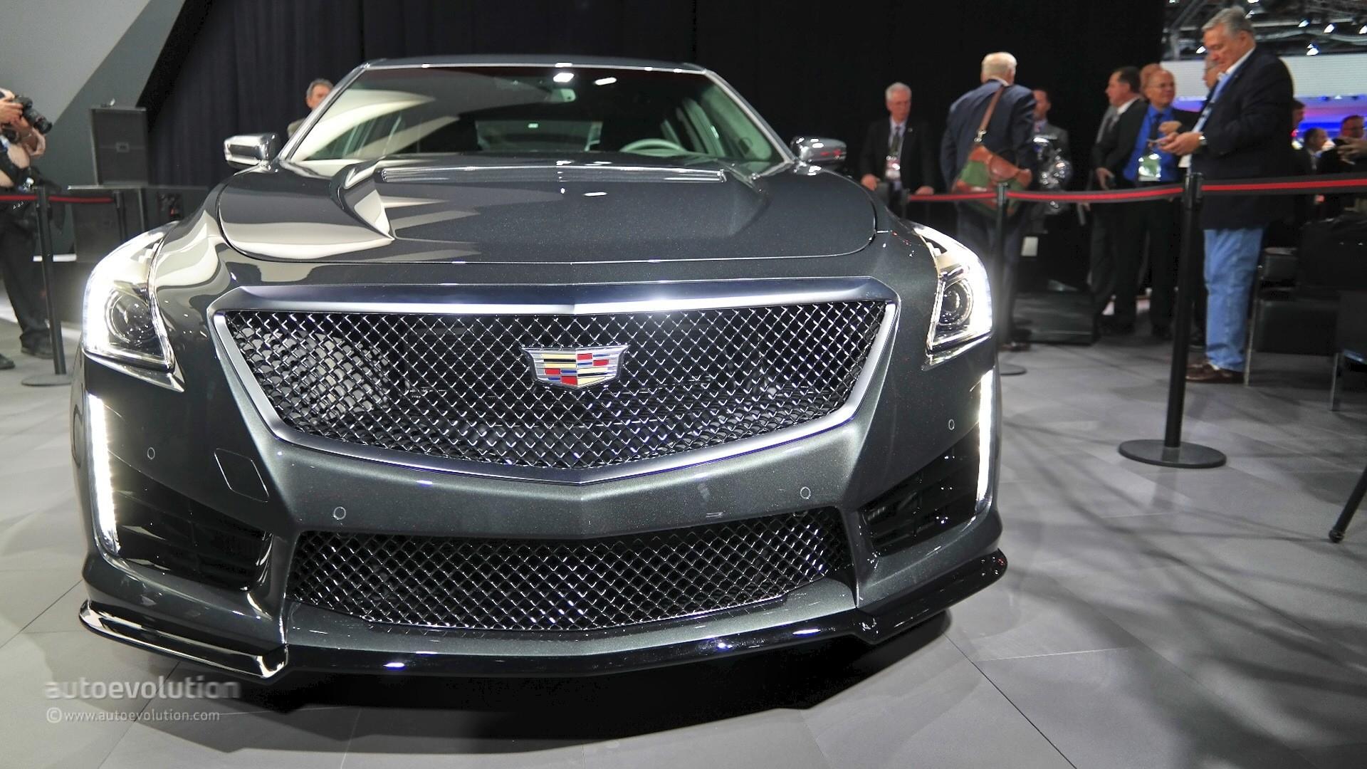 2016 Cadillac CTS-V Shows Detroit What a Performance Sedan ...