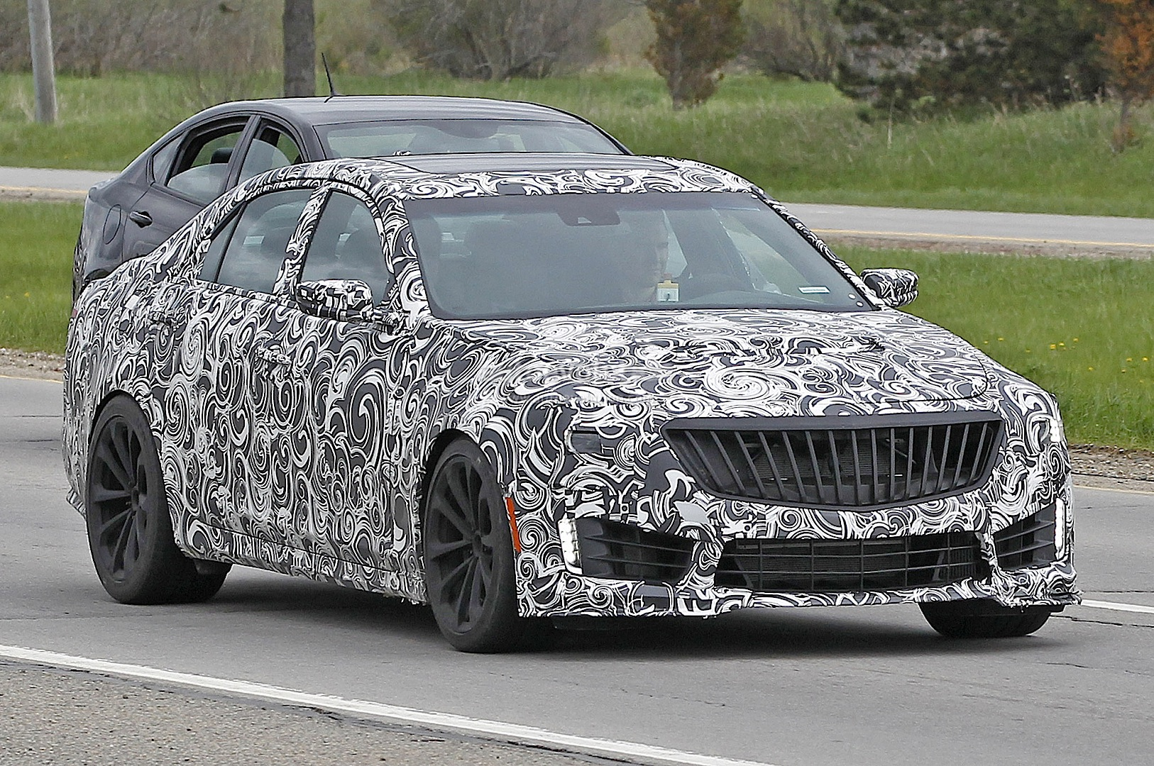 Cadillac Cts 3.6 >> 2016 Cadillac CTS-V Spied, Might Get Twin-Turbo V8