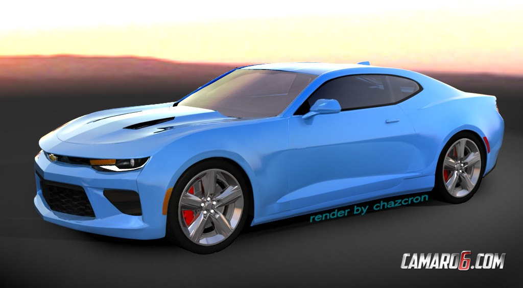 2016 Camaro Convertible Previewed By Realistic Renderings Autoevolution