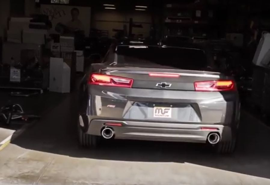 2016 Camaro V6 Sounds Incredibly Meaty with Magnaflow Rear