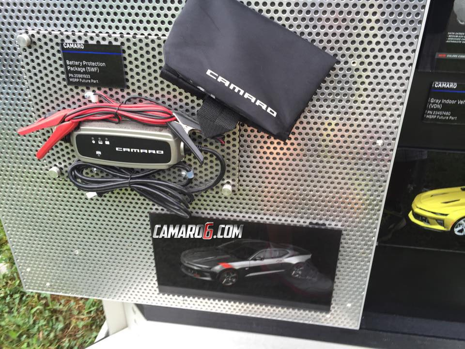 2016 Chevrolet Camaro Accessories Presented Ss Has Intake