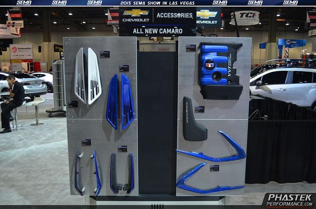 Chevrolet Camaro Accessories Underbody On Display At SEMA - Car show display accessories