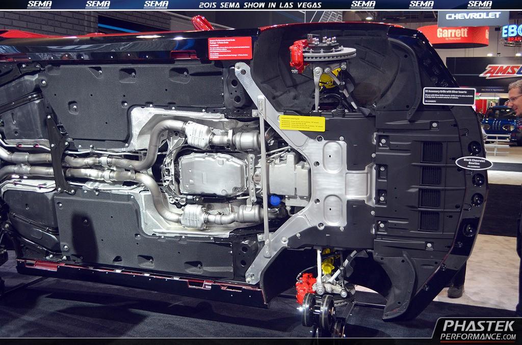 2016 Chevrolet Camaro Accessories Amp Underbody On Display