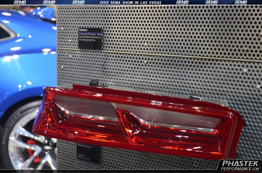 Chevy Special Edition >> 2016 Chevrolet Camaro Accessories & Underbody on Display ...