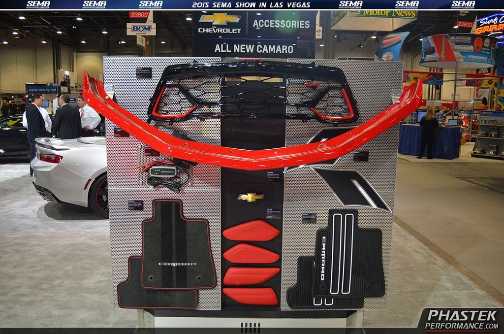 2016 Chevrolet Camaro Accessories Underbody On Display At Sema