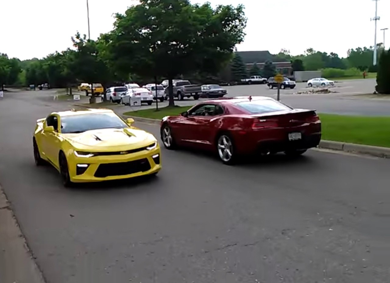 2016 Chevrolet Camaro Driving By Sounds Visceral ...