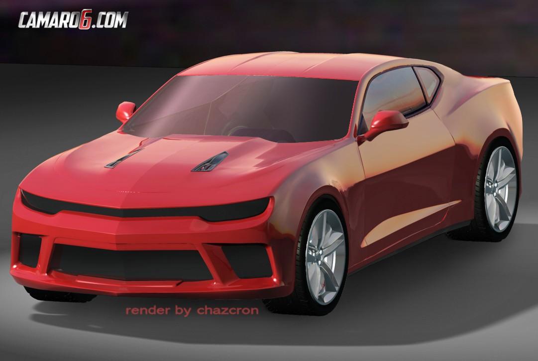 2016 Chevrolet Camaro Design Revealed In New Renderings