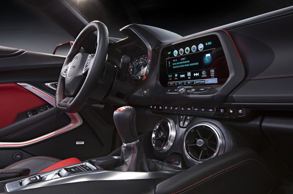 2016 Chevrolet Camaro Interior Detailed Autoevolution