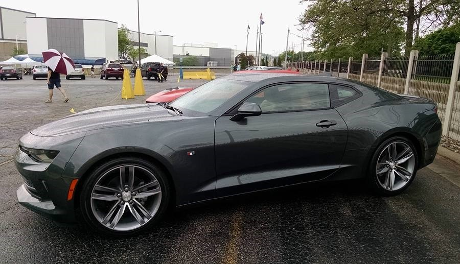 2016 Chevrolet Camaro Spotted Out In The Wild Autoevolution