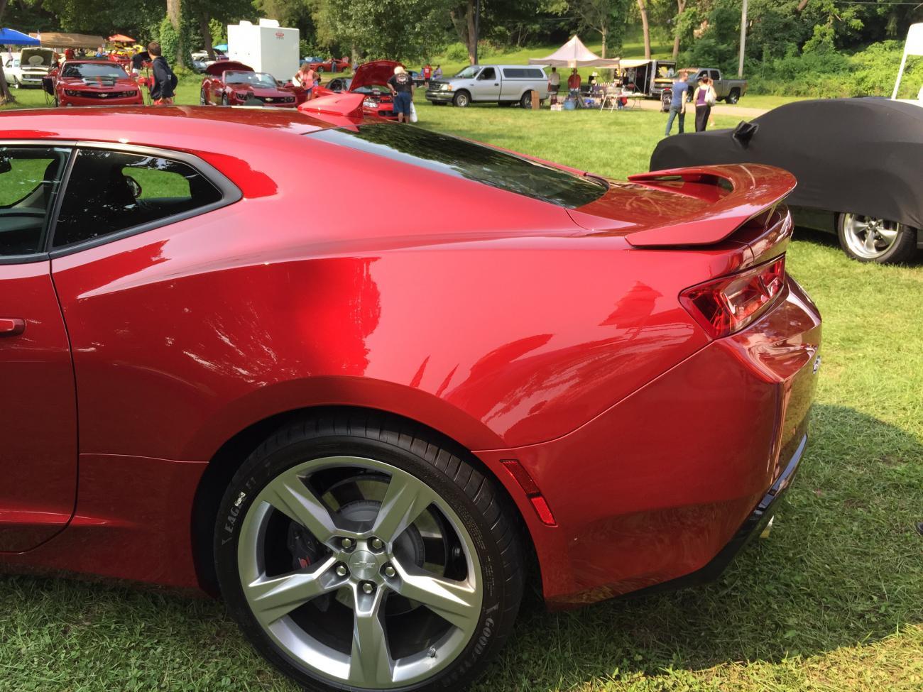 2016 Chevrolet Camaro Ss In Garnet Red Tintcoat