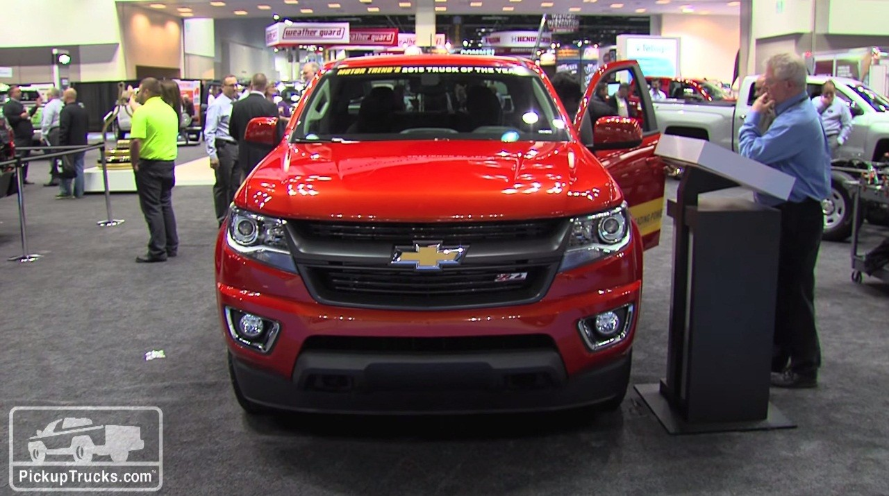 2016 chevrolet colorado diesel at 2015 work truck show