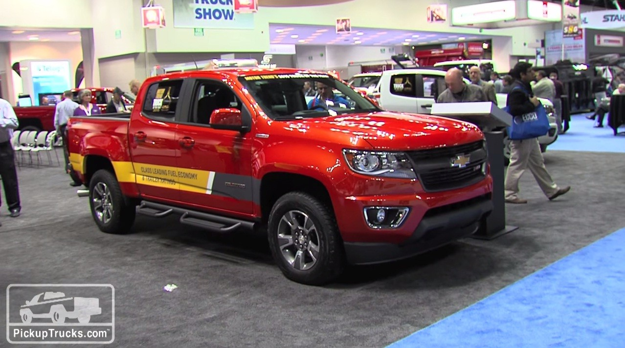 ... 2016 Chevrolet Colorado Diesel At 2015 Work Truck Show ...