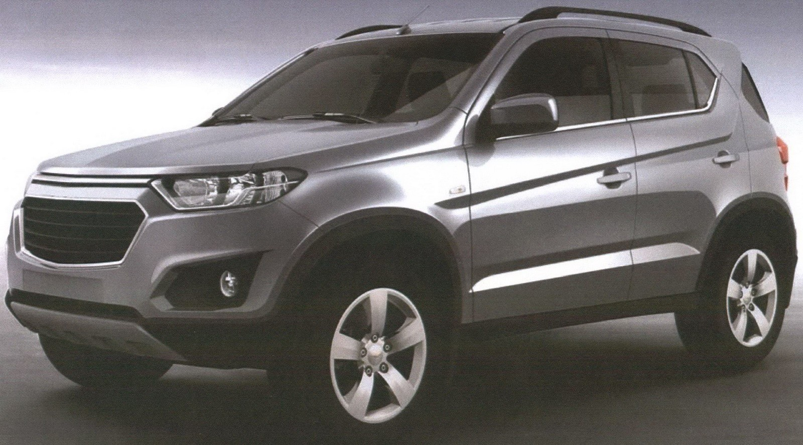 2016 Chevrolet Niva Leaked Patent Pictures Reveal