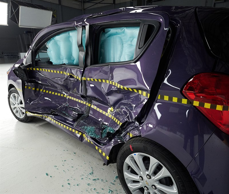 2016 Chevrolet Spark Crash Tested By The IIHS