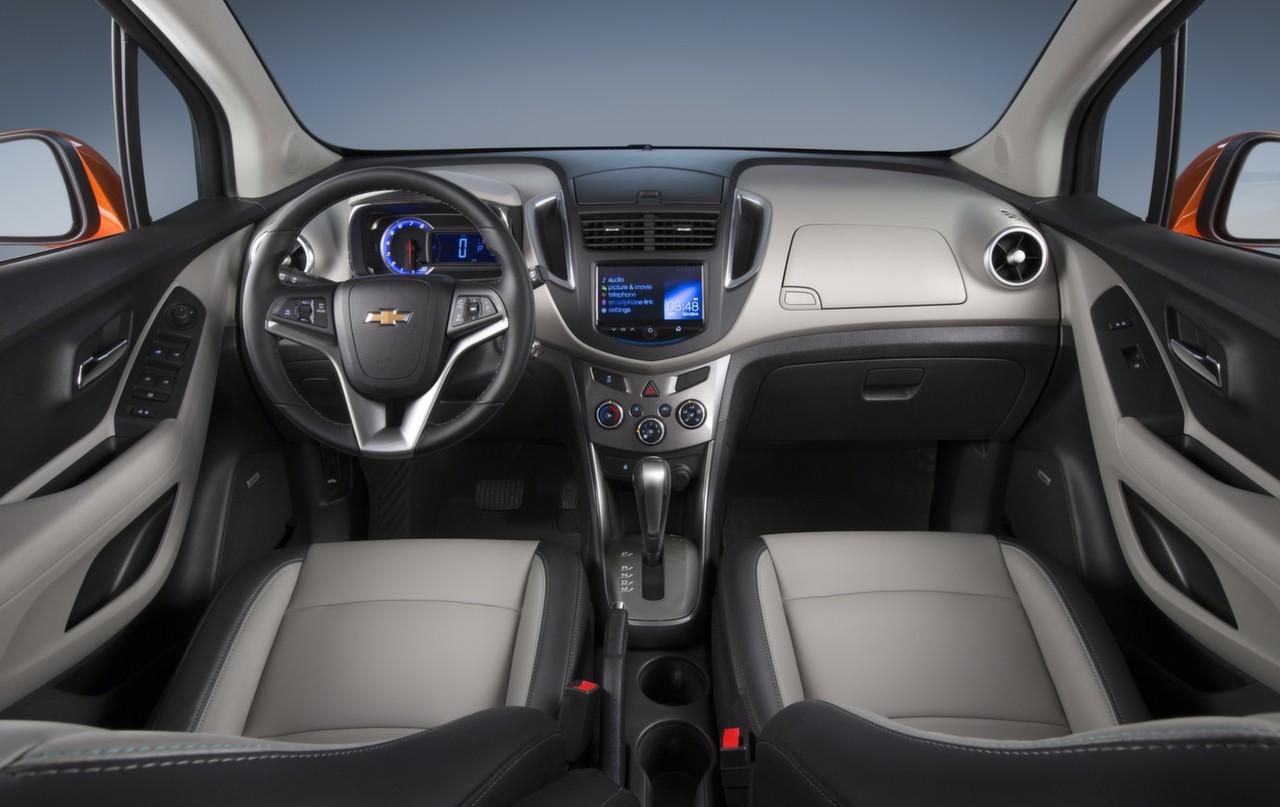 2016 chevrolet trax updates detailed autoevolution for Interiores 2016